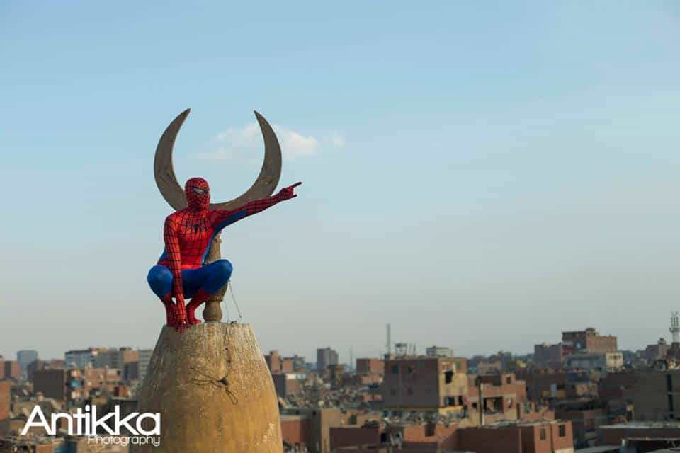 Spider Man, Cairo, TV Antennas, Antikka