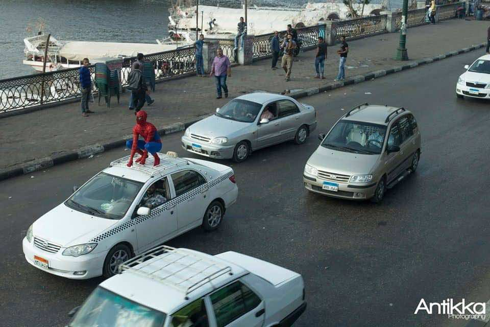 Spider Man, Cairo, Egypt, Antikka